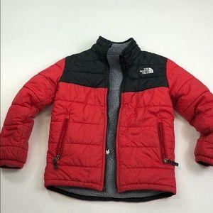 North Face Boys Winter Jacket sz 7/8